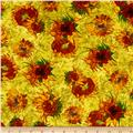 Kaufman Vincent Van Gogh 2 Forest Sunflowers Sunflower