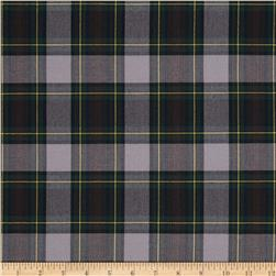 School Uniform Plaid Green/Grey