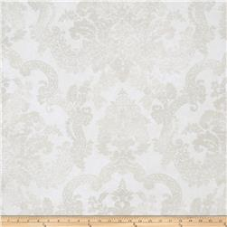 Fabricut Stanwyck Wallpaper Pearl (Double Roll)
