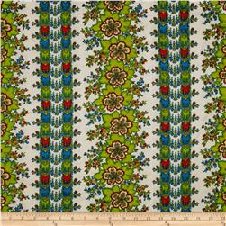 April Cornell Gypsy Dance Folklore Stripe Antique