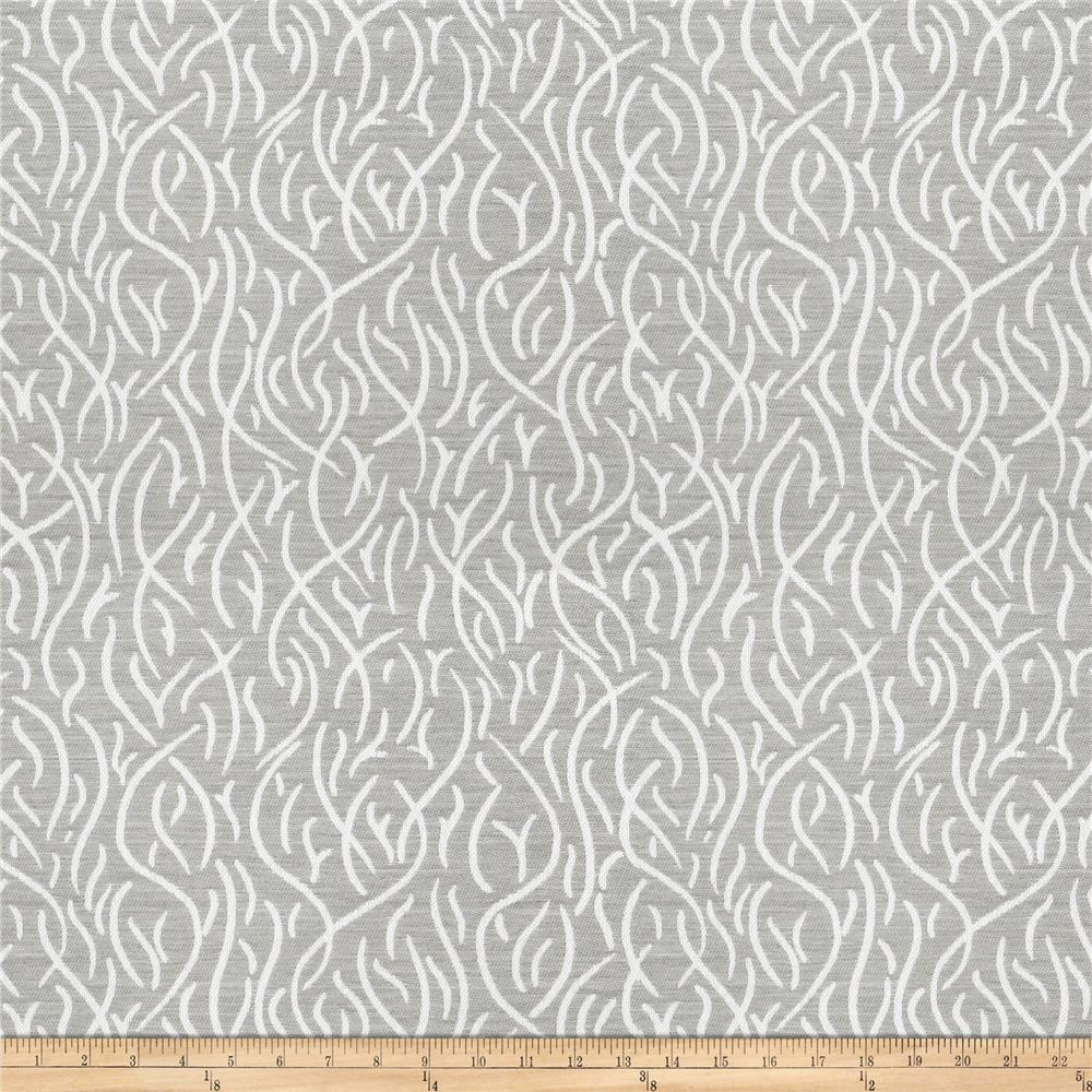 Kendall Wilkinson Indoor/Outdoor Jacquard Swaying Reeds River Stone