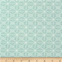 Imperial Dynasty Geometric Floral Blue