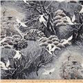 Snow Festival Metallic Asian Scenic Storm