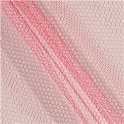 Nylon Netting Hot Paris Pink
