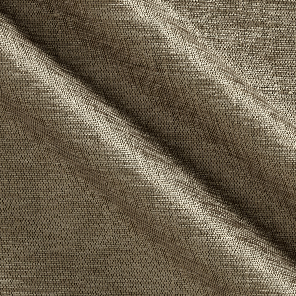 Shimmering Viscose Silk Matka Tarnished Silver Fabric