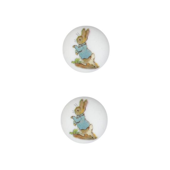 Novelty Button 3/4'' Beatrix Potter Peter Rabbit