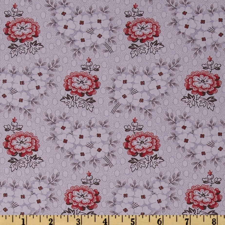 Moda Collection For A Cause Mill Book Series circa 1835 Blooms Lavender