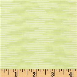 City Girl Wavy Stripe Pale Green Fabric