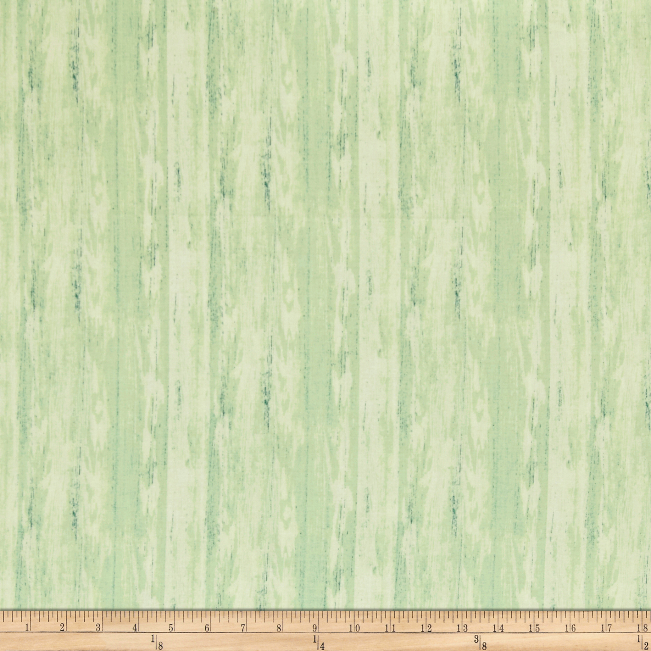 Pink Lady Wood Grain Light Green Fabric by P & B in USA