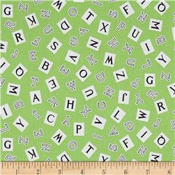 Kaufman My ABC Book Alphabet Lime
