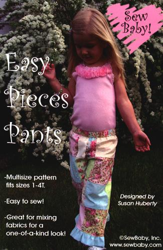 Sew Baby Easy Pieces Pants Pattern