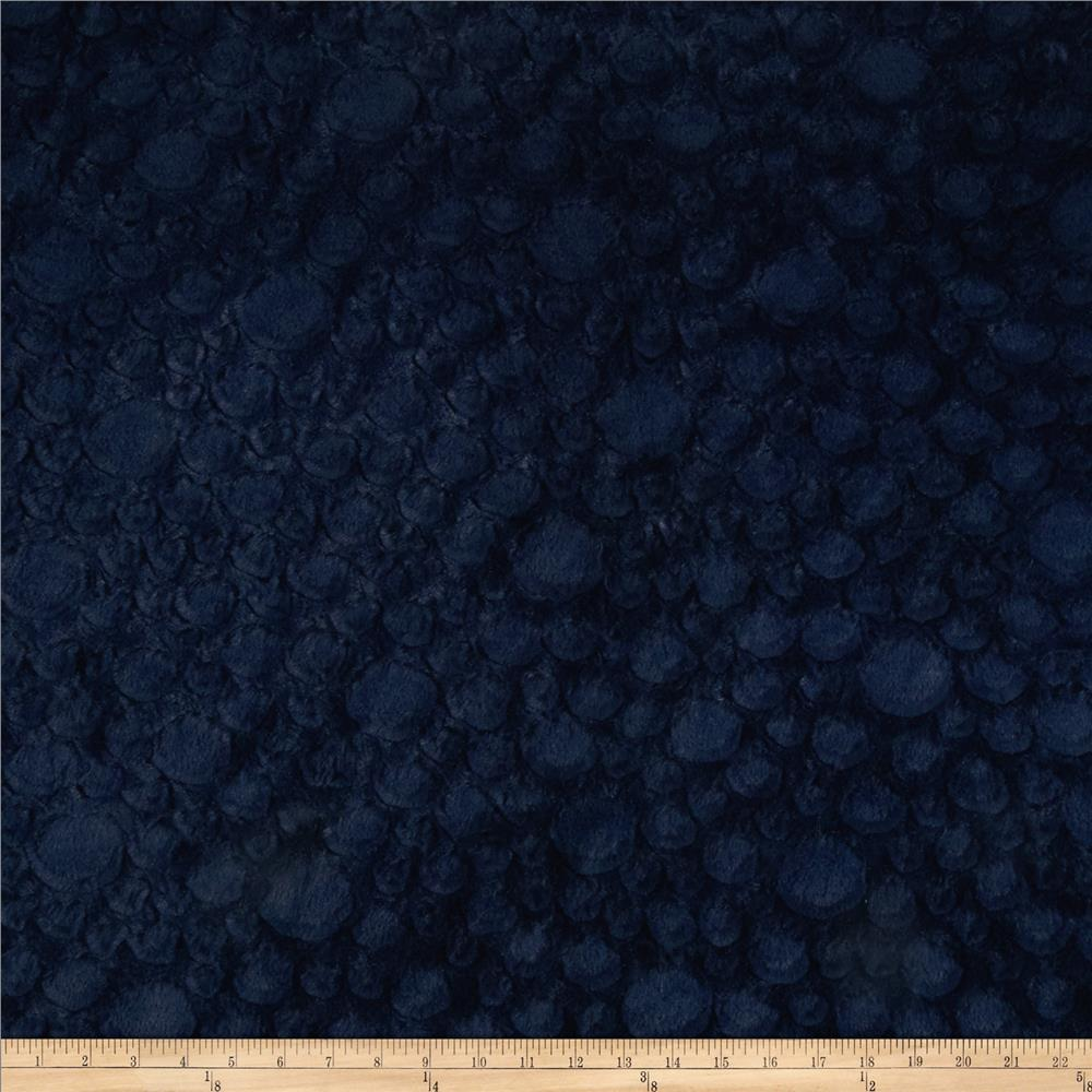 Minky Soft Stone Cuddle Navy