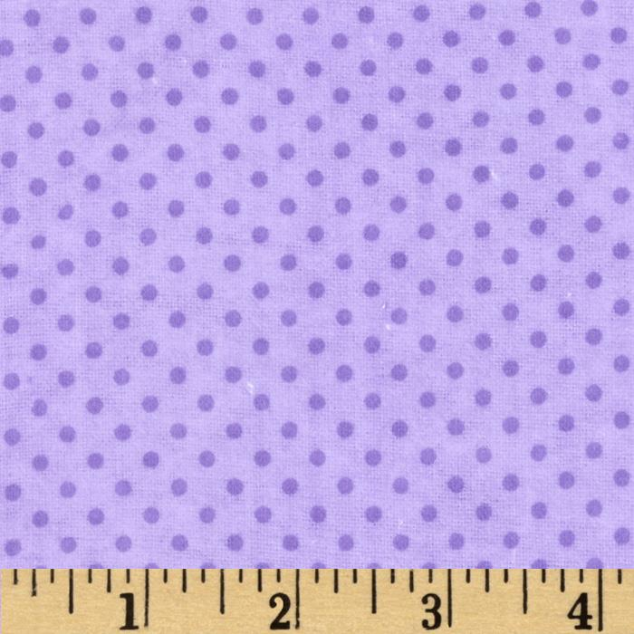 Flannel Dots Purple