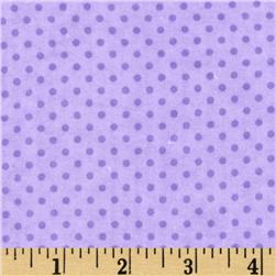 Flannel Mini Dots Tonal Purple
