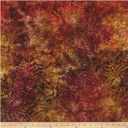 Timeless Treasures Tonga Batik Autumn Ferns