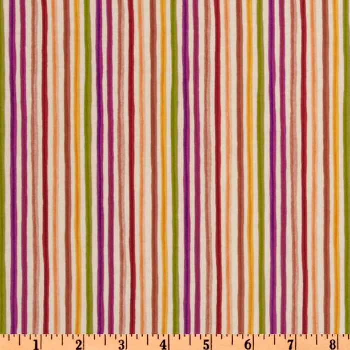 Spice Cats Stripes Cream/Multi