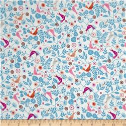 Forest Frolic Birds Cream