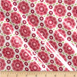 Riley Blake Summer Song 2 Laminate Floral Pink