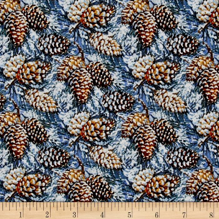 Snowscapes Pine Cones Brown
