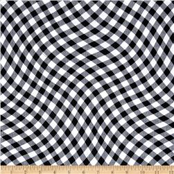 Kanvas Maine Attractions Wavy Gingham Black