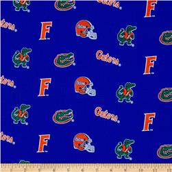 Collegiate Cotton Broadcloth Florida