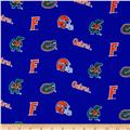 Collegiate Cotton Broadcloth University of Florida Blue