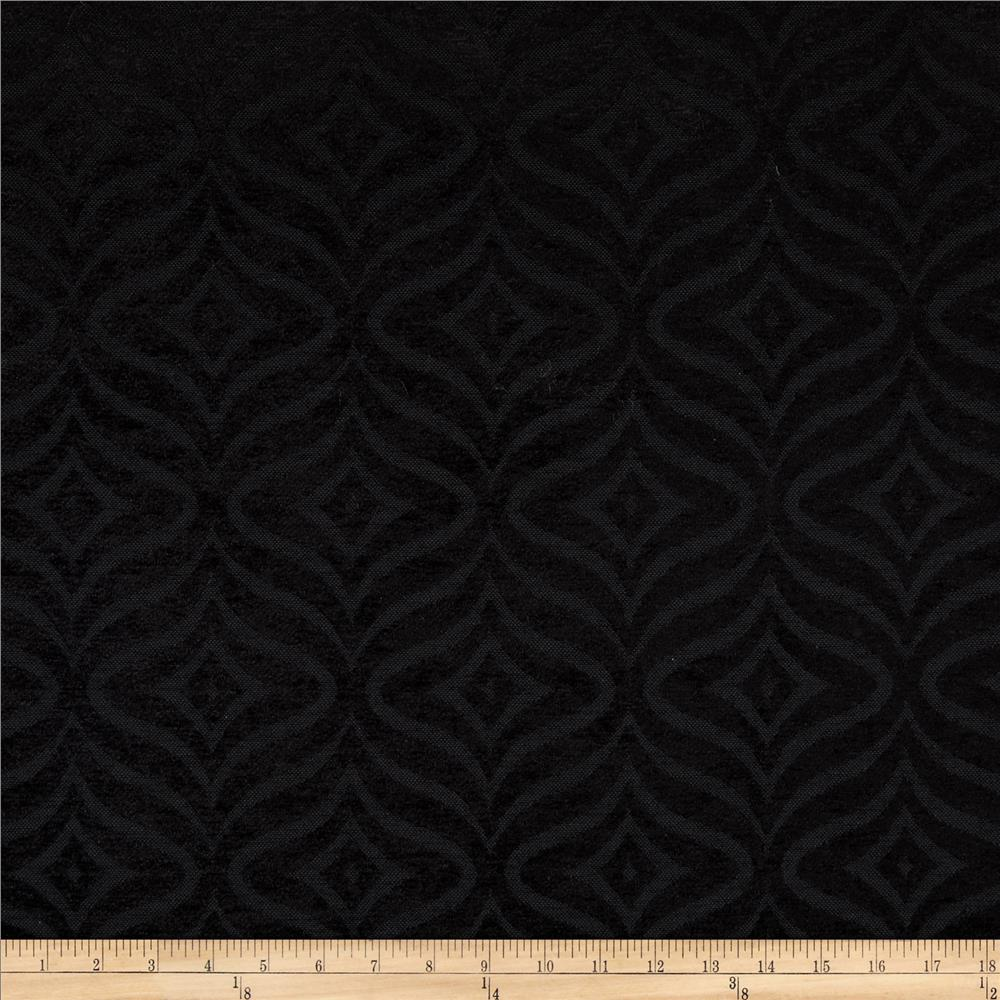 Waverly Canyon Calling Chenille Jacquard Ebony
