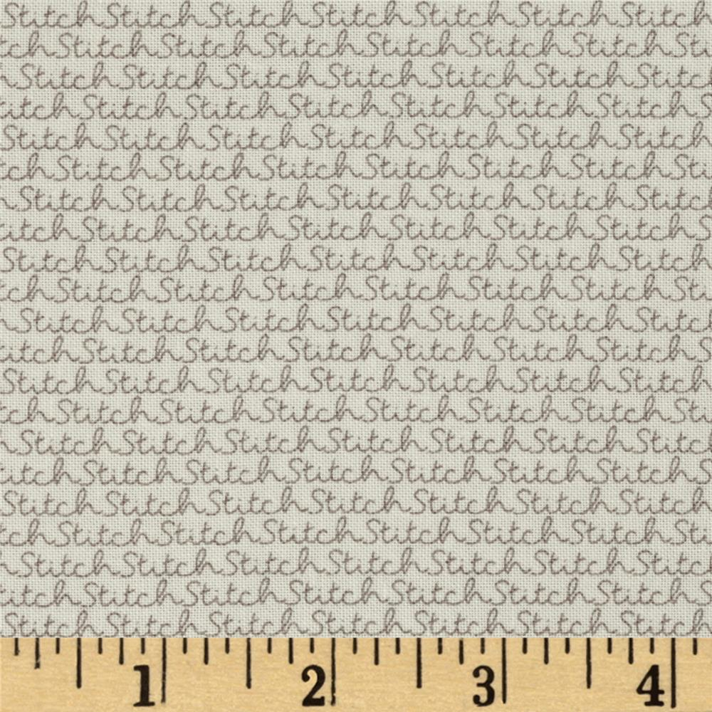 Moda Volume II Stitch Vanilla Cloudy