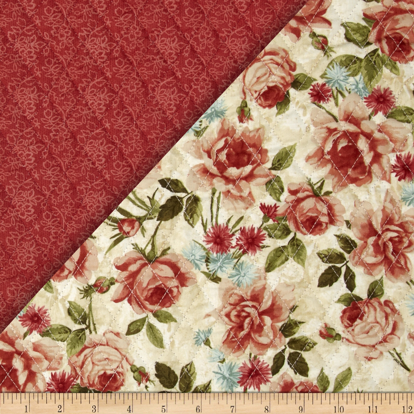 Double Sided Quilted Muslin Natural Discount Designer