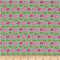 Riley Blake Summer Breeze Floral Blue Fabric