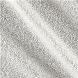 Polyester French Terry Knit Ivory