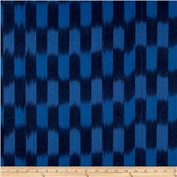 Dream Weaves Woven Ikat Check Wedgewood