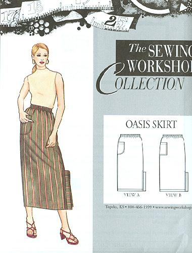 The Sewing Workshop Oasis Skirt Pattern