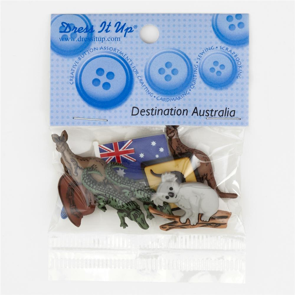 Dress It Up Embellishment Buttons  Australia