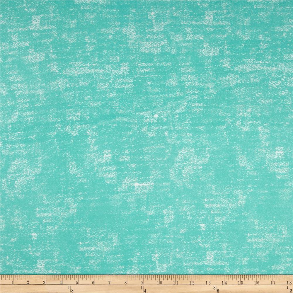Double Brushed Poly Spandex Jersey Knit Milana Grunge Mint