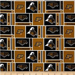Collegiate Cotton Broadcloth Purdue University Gold