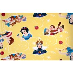 Disney Snow White Fleece Toss Yellow
