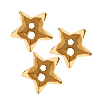 Novelty Button 5/8'' Gold Star