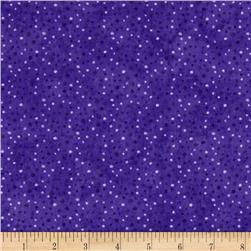 Essentials Brights Petite Dots Royal Purple