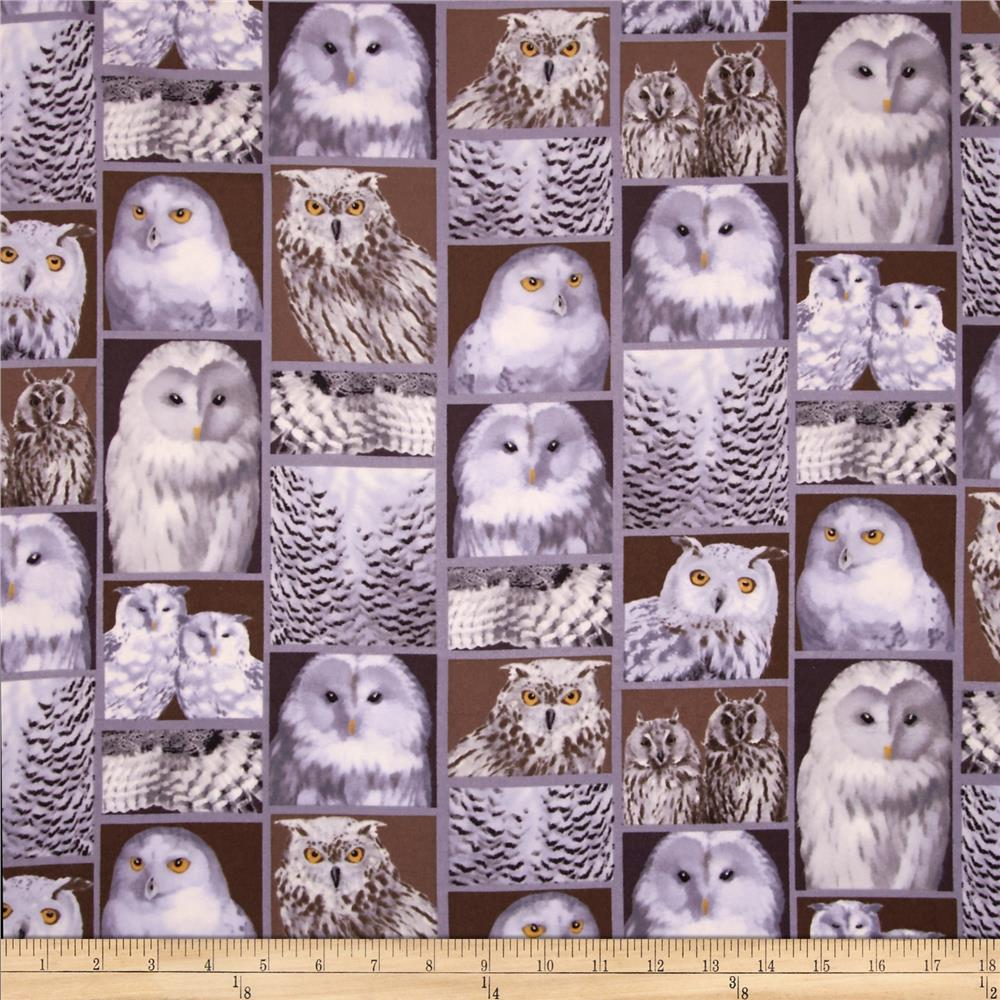 Kanvas The Great North Wilderness Flannel Feathered Owlet