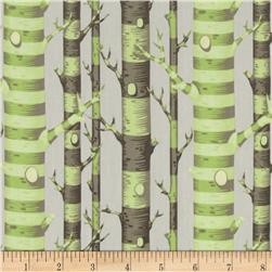 Tula Pink Bumble Forest Stripe Sprout