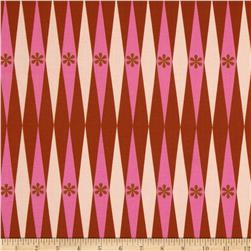 Cotton & Steel Playful Backgammonish Pink Fabric