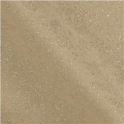 Michael Miller Fairy Frost Glitz Tan Fabric