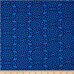 Amy Butler True Colors Wallflower Midnight Fabric