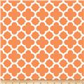 Riley Blake Quatrefoil Orange