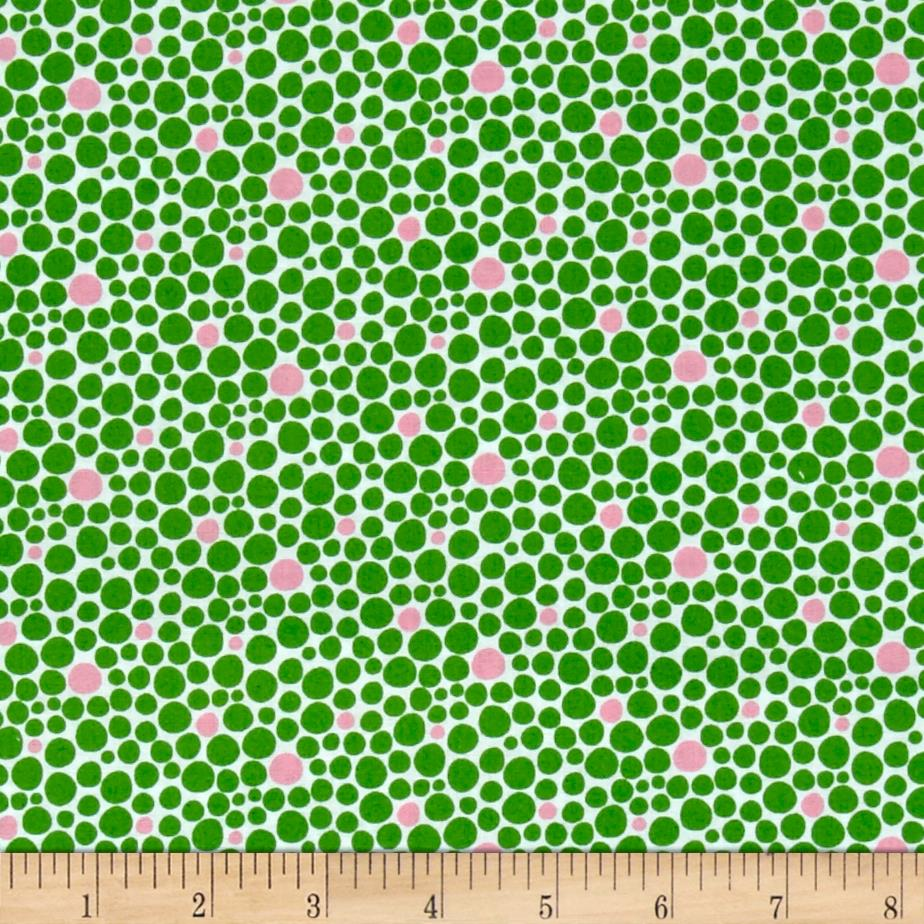 Windham Spring Bloom Dots  Green