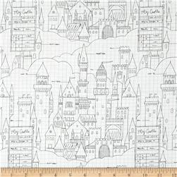 Michael Miller Sarah Jane Magic Castle Plans White