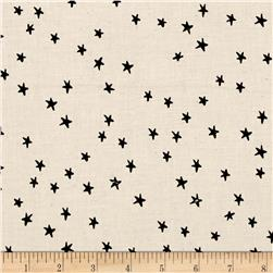 Cotton + Steel Printshop Starry Black