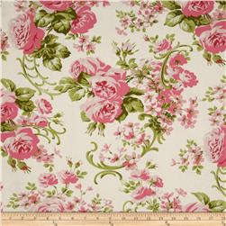 Pirouette Cabbage Rose Ivory