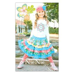 The Pink Fig Nie Nie Girls Skirt Pattern